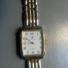 Relojes de pulsera: RELOJ STEVENS STAINLESS STEEL BLACK WALTER RESISTAN QUARTZ. Lote 106204974