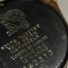 Relojes de pulsera: RELOJ DOGMA CHAPADO EN ORO 10 MICRAS. Lote 106410852