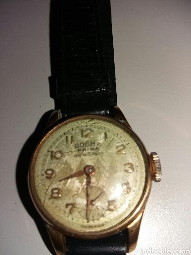 Relojes de pulsera: Reloj dogma chapado en oro 10 micras - Foto 3 - 106410852