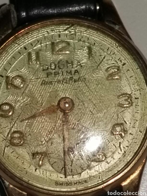 Relojes de pulsera: Reloj dogma chapado en oro 10 micras - Foto 4 - 106410852