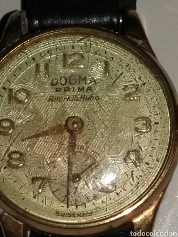 Relojes de pulsera: Reloj dogma chapado en oro 10 micras - Foto 5 - 106410852