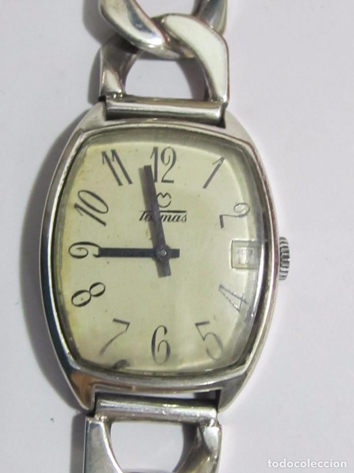 Relojes de pulsera: RELOJ TORMAS DE PLATA 925, CARGA MANUAL - Foto 2 - 106575867