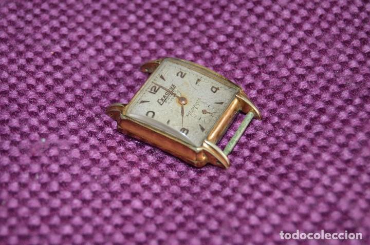 VINTAGE - ANTIGUO RELOJ EXACTUS PRIMA - 15 JEWEL - PRECIOSO - SWISS MADE - CARGA MANUAL - HAZ OFERTA (Relojes - Pulsera Carga Manual)