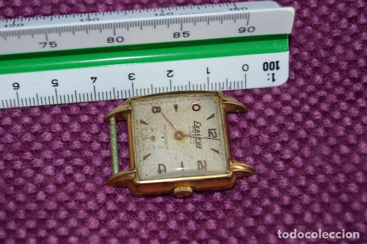 Relojes de pulsera: VINTAGE - ANTIGUO RELOJ EXACTUS PRIMA - 15 JEWEL - PRECIOSO - SWISS MADE - CARGA MANUAL - HAZ OFERTA - Foto 7 - 106774575