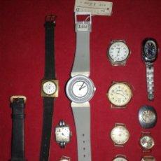 Relojes de pulsera: LOTE DE RELOJES DE CUERDA. Lote 107108031