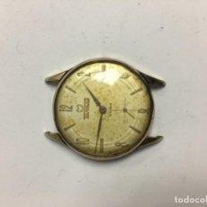 Reloj Tormas caja chapada oro