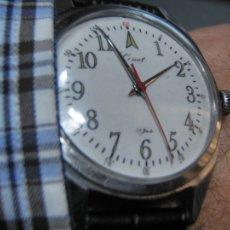 Relojes de pulsera: COMET MILITAR CARGA MANUAL 17 RUBÍS 1960 P211A. Lote 118424456