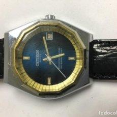 Relojes de pulsera: RELOJ CETIKON CARGA MANUAL Y CORREA DE PIEL EN FUNCIONAMIENTO. Lote 133230831