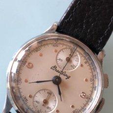 Relojes de pulsera - ELEGANTE RELOJ BREITLING CRONOGRAPH CAJA ACERO 1945 CALIBRE VENUS 170 - 108274139
