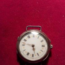 Relojes de pulsera: ANTIGUO RELOJ PULSERA PLATA. Lote 108752286