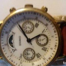 Relojes de pulsera: RELOJ GIVAKO, MECÁNICO. FUNCIONA BIEN.. Lote 109065991