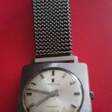 Relojes de pulsera: RELOJ FESTINA INCABLOC. Lote 43821450