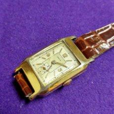 Relojes de pulsera: ANTIGUO RELOJ DE PULSERA ABAITUA. AÑOS 30. CARGA MANUAL.EN FUNCIONAMIENTO. SEÑORA.CHAP. ORO. VITORIA. Lote 109176935