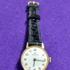 Relojes de pulsera: ANTIGUO RELOJ DE PULSERA CERTINA. CARGA MANUAL. EN FUNCIONAMIENTO. SEÑORA. AÑOS 60. CHAPADO EN ORO.. Lote 109177959