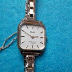 Relojes de pulsera: RELOJ DE DAMA. MARCA SAVAR. FUNCIONANDO.. Lote 109187363