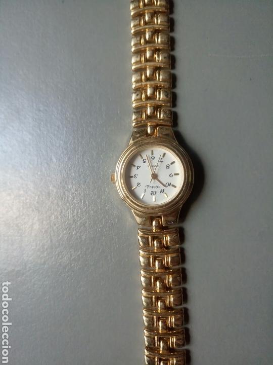 mejores zapatillas de deporte a70ad 273db Reloj forelli quartz bañado en oro 18k stainless Steel back