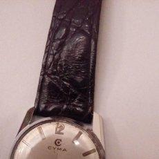 Relojes de pulsera: RELOJ DE PULSERA CABALLRO CARGA MANUAL,CYMA, FUNCIONA. Lote 109474711
