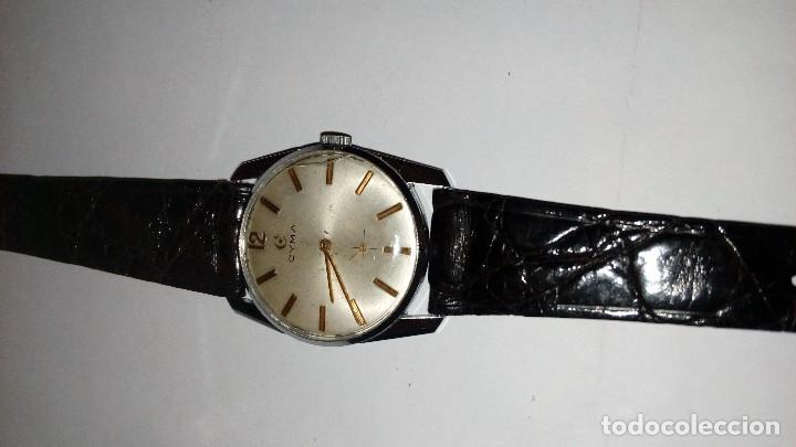 Relojes de pulsera: Reloj de pulsera caballro carga manual,cyma, funciona - Foto 4 - 109474711