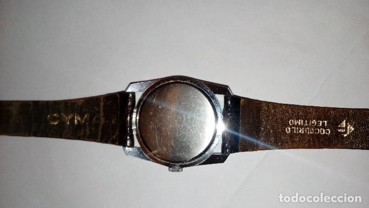 Relojes de pulsera: Reloj de pulsera caballro carga manual,cyma, funciona - Foto 7 - 109474711
