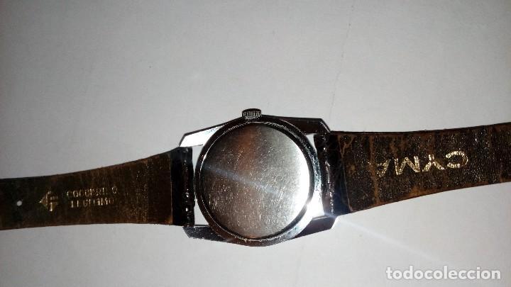 Relojes de pulsera: Reloj de pulsera caballro carga manual,cyma, funciona - Foto 8 - 109474711