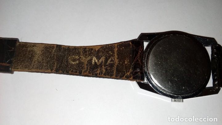 Relojes de pulsera: Reloj de pulsera caballro carga manual,cyma, funciona - Foto 9 - 109474711