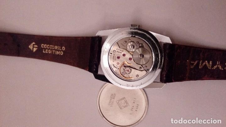 Relojes de pulsera: Reloj de pulsera caballro carga manual,cyma, funciona - Foto 11 - 109474711