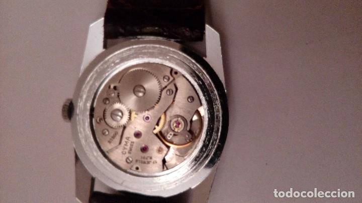 Relojes de pulsera: Reloj de pulsera caballro carga manual,cyma, funciona - Foto 12 - 109474711