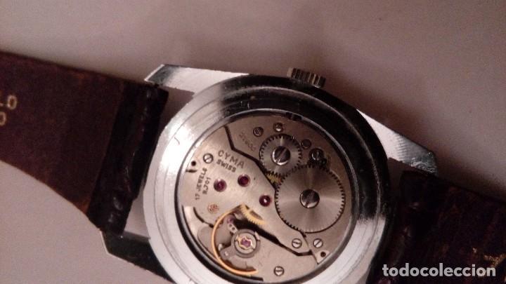 Relojes de pulsera: Reloj de pulsera caballro carga manual,cyma, funciona - Foto 14 - 109474711
