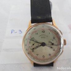 Relojes de pulsera: RELOJ CRONOGRAFO DE ORO DE 18 KTS . Lote 112686842