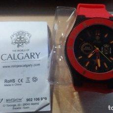 Relojes de pulsera: RELOJ CALGARY ESPAÑA. Lote 110375287