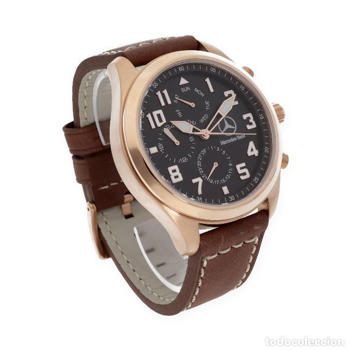 fe4398d2b30c Relojes de pulsera  Reloj caballero S S para Mercedes y Llavero de plata  con motivo de
