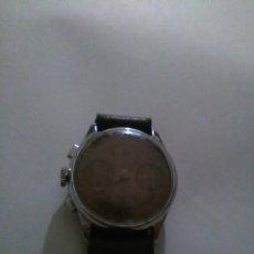 Relojes de pulsera: RELOJ CRONOMETRO AÑOS 50 FUNCIONANDO. Lote 111713751