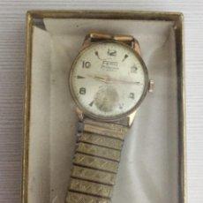Relojes de pulsera: RELOJ FERO FELDMANN 17 JEWELS EN CAJITA LEER. Lote 111821579