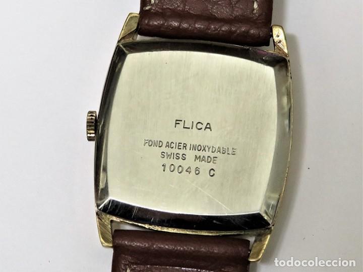 Relojes de pulsera: FLIKA DE CUERDA MANUAL FABRICACIÓN SUIZA - Foto 5 - 111994399
