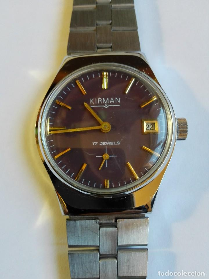 RELOJ KIRMAN (Relojes - Pulsera Carga Manual)