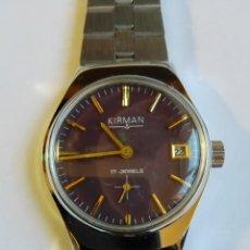 Relojes de pulsera: RELOJ KIRMAN. Lote 112176951