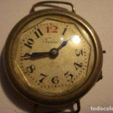 Relojes de pulsera: BONITO RELOJ DE PULSERA EN PLATA MARCA TURIA - NO FUNCIONA - PARA REPARAR O PIEZAS. Lote 112480731