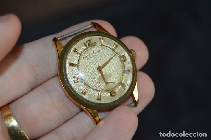 Relojes de pulsera: ANTIGUO - VINTAGE - RELOJ DE PULSERA - TANGER PRIMA - 15 RUBIS - MANUAL - SWISS MADE - HAZ OFERTA - Foto 7 - 112603351