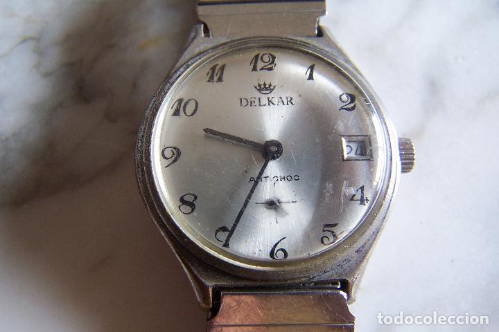 Reloj Carga Marcha De Delkar ManualTamaño ElásticaAntichocTapa A CadeteCorrea RoscaEstado 53RLq4jScA