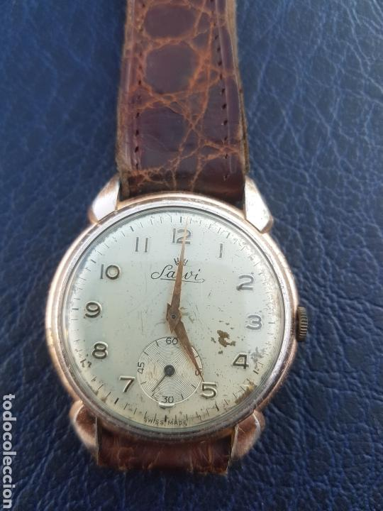 ANTIGUO RELOJ SUIZO SALVI (Relojes - Pulsera Carga Manual)