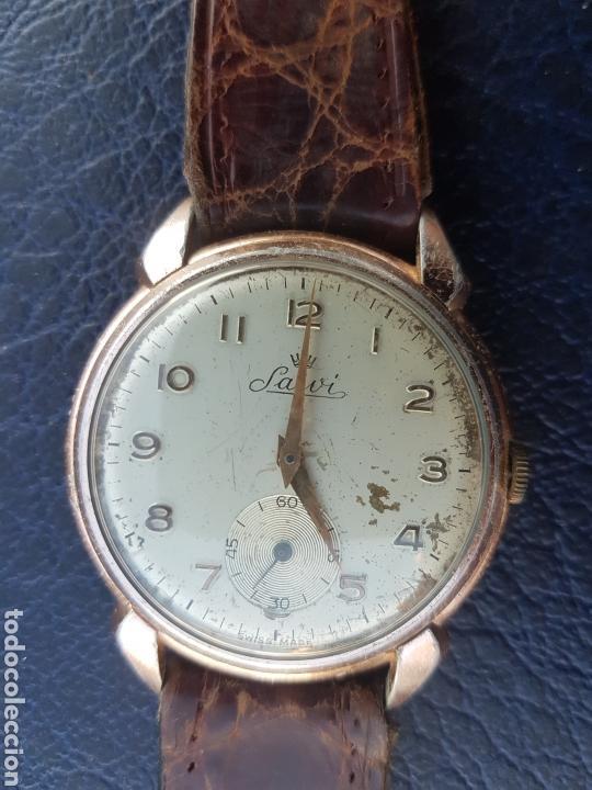 Relojes de pulsera: Antiguo reloj suizo Salvi - Foto 6 - 113089722