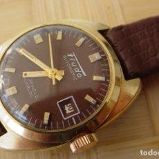 Relojes de pulsera: RELOJ SUIZO -DE SEÑORA FLUDO -AUTOMÁTICO AÑOS 60. Lote 113144235