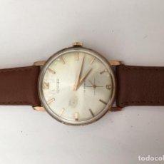 Relojes de pulsera: RELOJ TERMIDOR CARGA MANUAL Y CAJA CHAPADA ORO EN FUNCIONAMIENTO . Lote 113224015