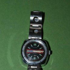Relojes de pulsera: RELOJ DE PULSERA - CUERDA - GENEVE - CORREA DE ACERO - RALLY - FORMULA 1 - AÑOS 60-70. Lote 113226711