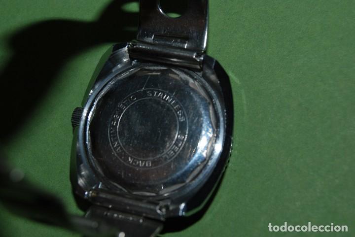 Relojes de pulsera: RELOJ DE PULSERA - CUERDA - GENEVE - CORREA DE ACERO - RALLY - FORMULA 1 - AÑOS 60-70 - Foto 6 - 113226711
