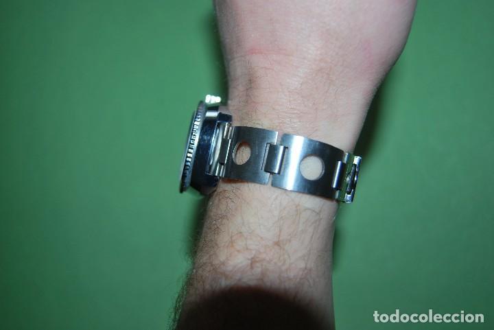 Relojes de pulsera: RELOJ DE PULSERA - CUERDA - GENEVE - CORREA DE ACERO - RALLY - FORMULA 1 - AÑOS 60-70 - Foto 8 - 113226711