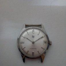 Relojes de pulsera: RELOJE DE MARCA LIP, CALENDRIER. - SWISS MADE - MUI VALORADO EN MERCADO. Lote 113303795