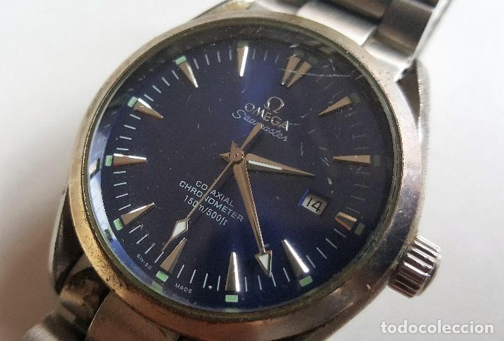 Omega Chronometer Seamaster Co Vendido En Reloj Axial Meta Subasta dCstxhQr