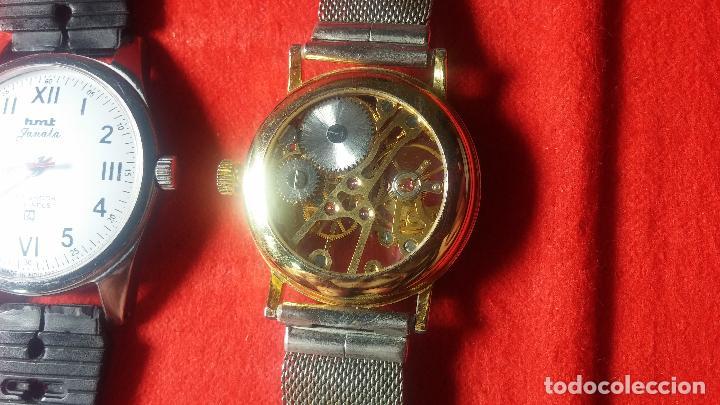 Relojes de pulsera: Botita cartera con reloj de cuerda Olma,los otros 7 relojes de cuerda que contiene se regalan - Foto 38 - 113733395