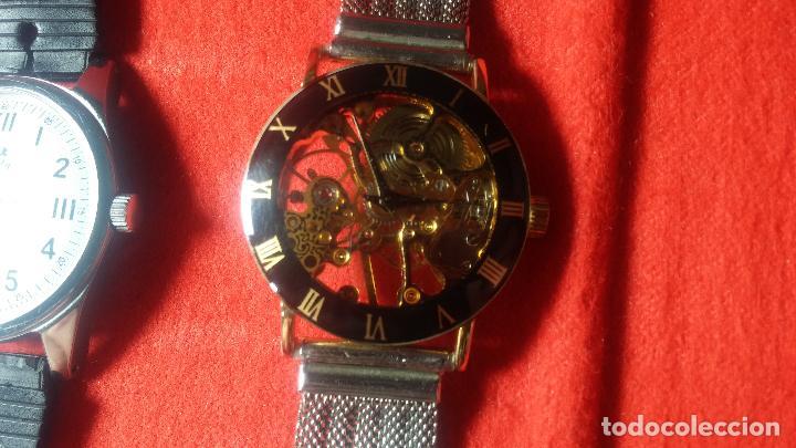 Relojes de pulsera: Botita cartera con reloj de cuerda Olma,los otros 7 relojes de cuerda que contiene se regalan - Foto 42 - 113733395